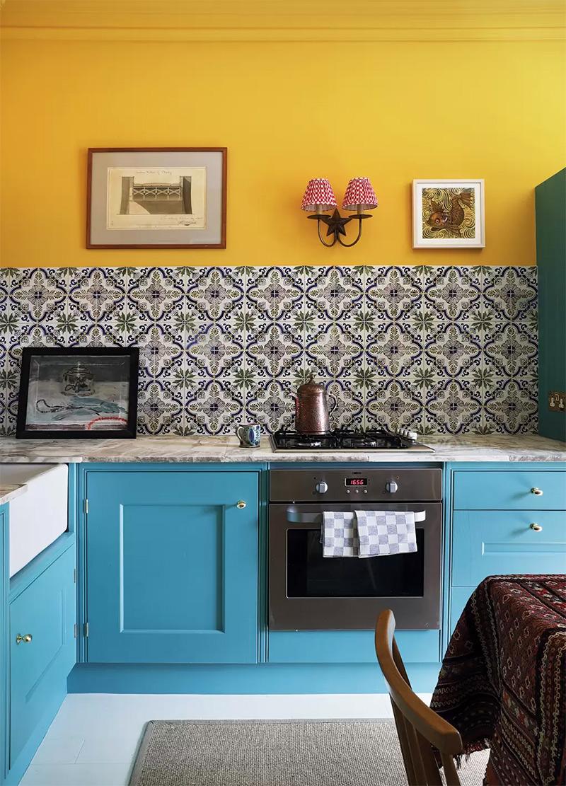 Design intérieur : Susan Deliss - Projet : Edinburgh flat - Photo : Elsa Young