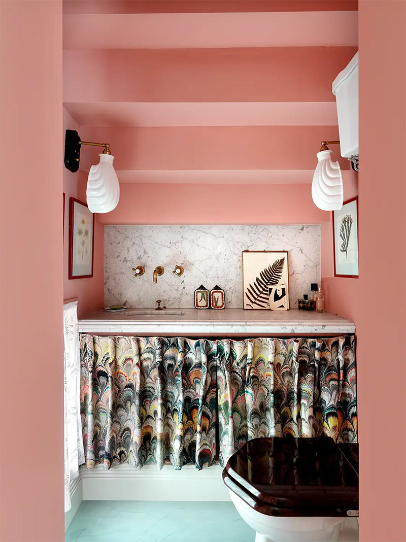 Design intérieur : Beata Heuman - Projet : Riverside Townhouse