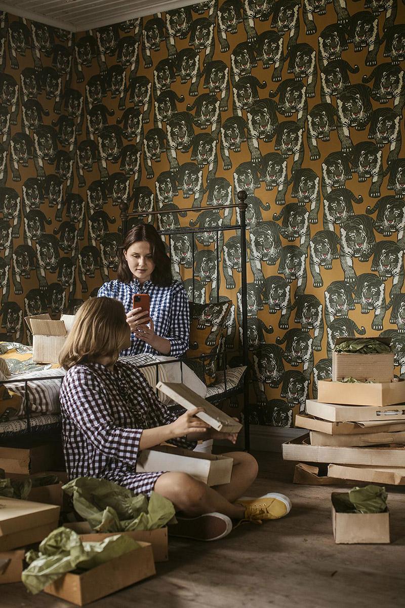 "Nouvelle collection ""Tutti Fiori"", studio Lisa Bengtsson // Motif Love"