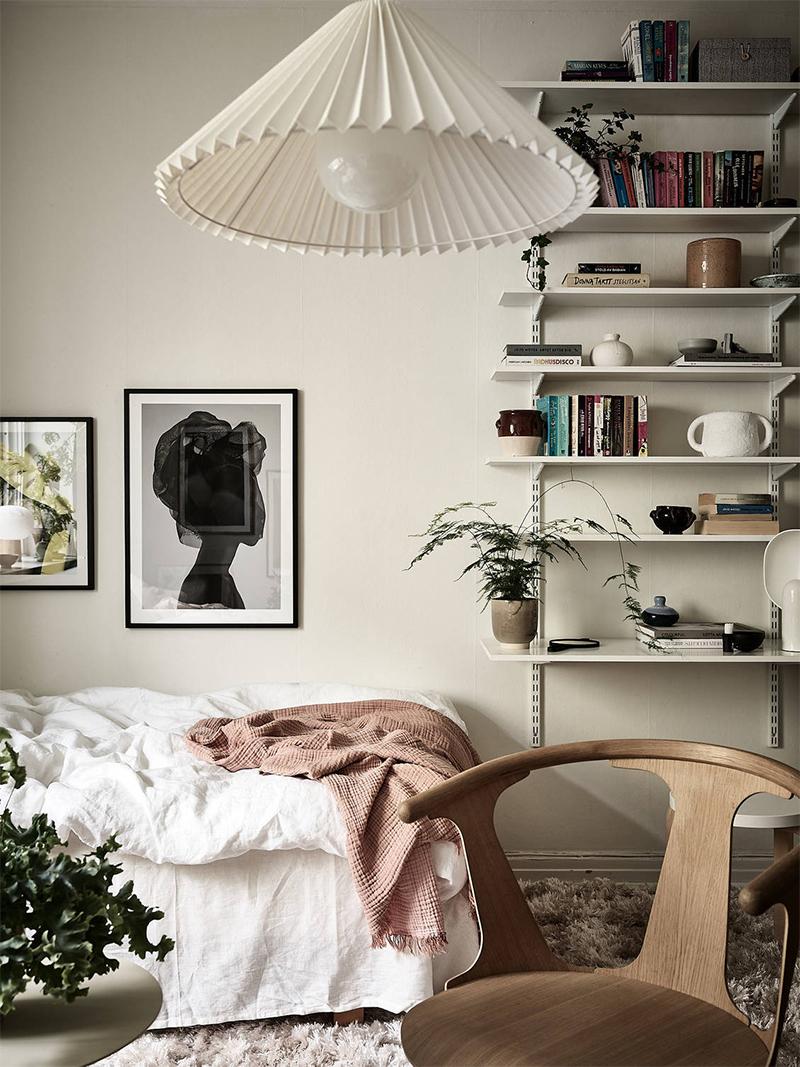 Comment meubler un studio ou un petit espace ? // Un studio de style scandinave