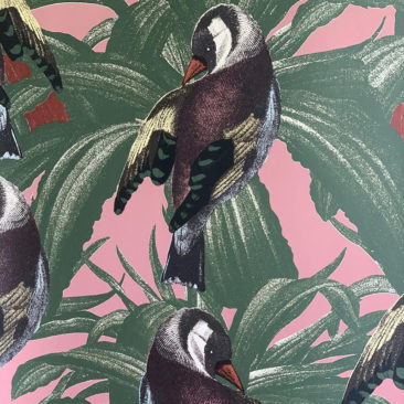 "Nouvelle collection ""Tutti Fiori"", studio Lisa Bengtsson // Motif Pippi"