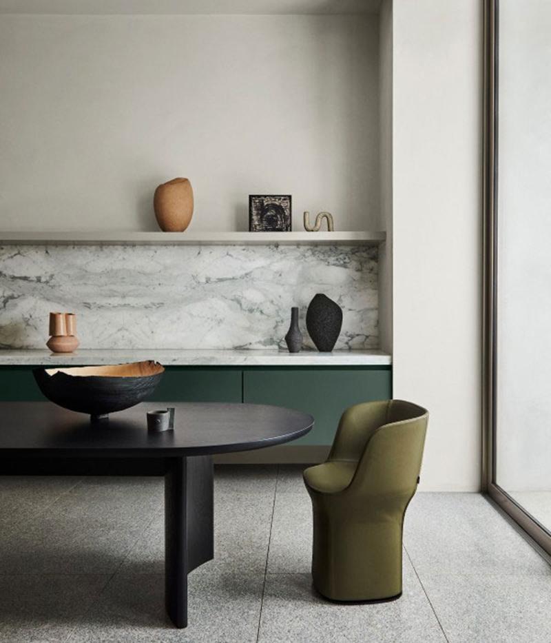 Collection couleurs Dulux - Inspiration Restaure - Association des teintes Opononi Quarter + Finnegan