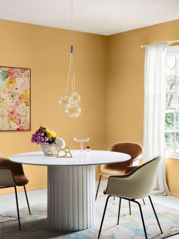 Collection couleurs Dulux - Palette Wonder - Association des teintes Sandpaper + Southern Alps